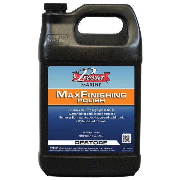 Presta MaxFinishing Polish - 1-Gallon [163501]