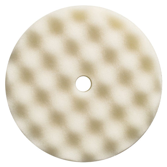 Presta White Foam Compounding Pad - *Case of 12* [890171CASE]