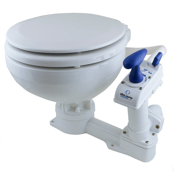 Albin Pump Marine Toilet Manual Compact [07-01-001]