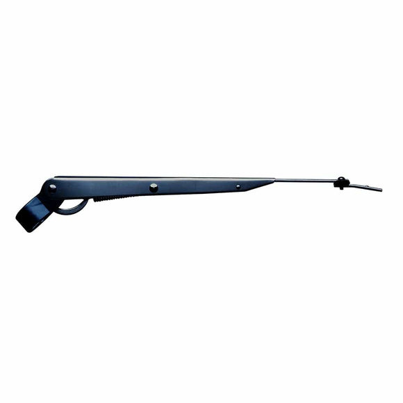 Marinco Wiper Arm Deluxe Stainless Steel - Black - Single - 14