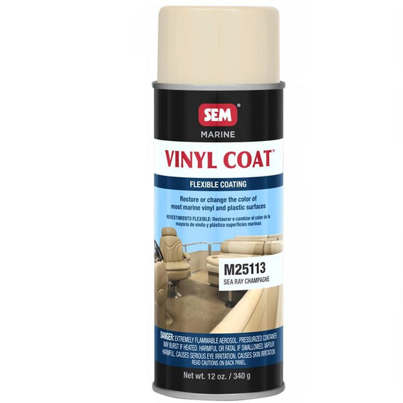 SEM Vinyl Coat - Sea Ray Champagne - 12oz [M25113]