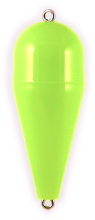 Rainbow Torpedo Float 3-8 Opaque Green