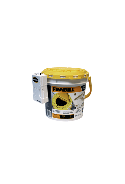 Frabill Minnow Bucket Insulated w-Aerator Hang-on