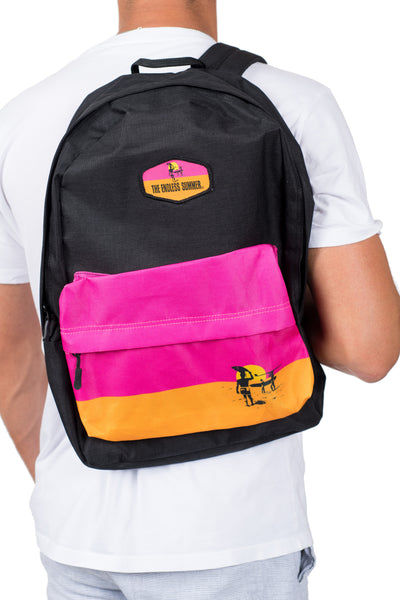 AMERICAN FISH FLAG LOGO BACKPACK