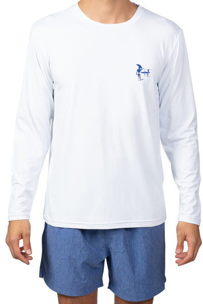 30 SPF-FISH FLAG LONG SLEEVE SUNSHIRT