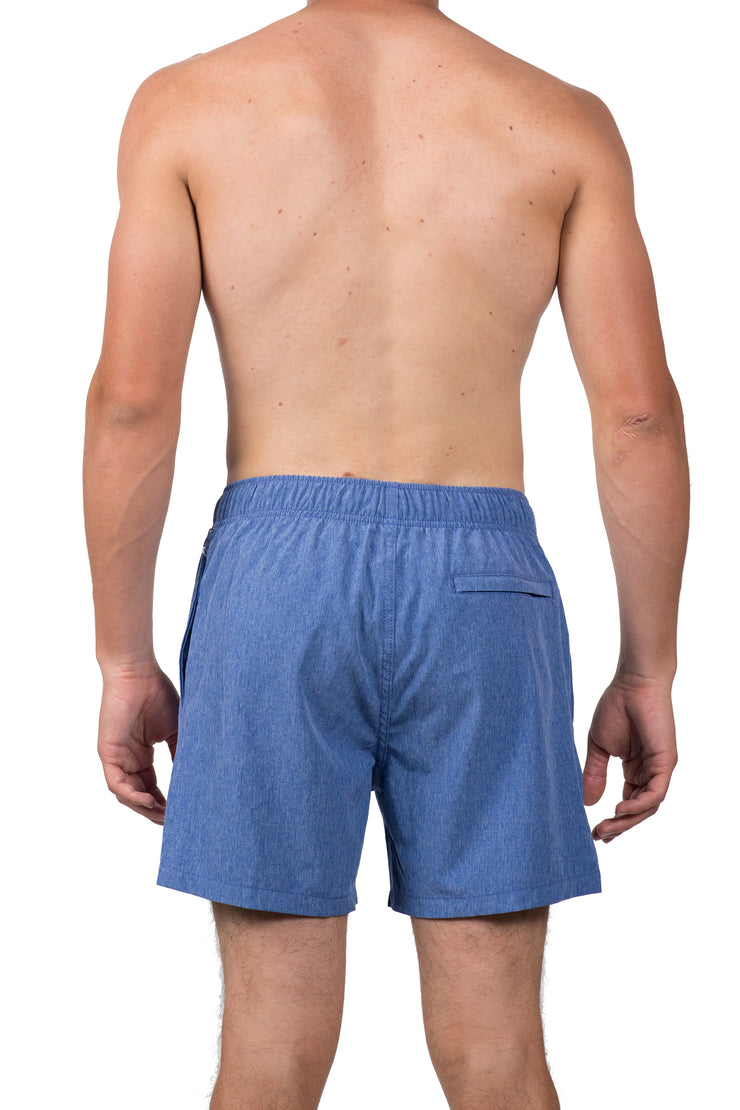 SOLID WALK SHORTS - NAVY