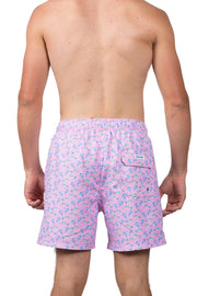 MARLIN SWIM SHORTS - LT PINK