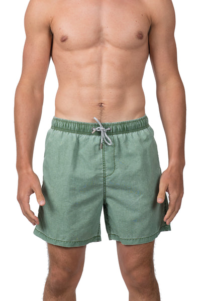 SOLID WALK SHORTS - HUNTER GRN