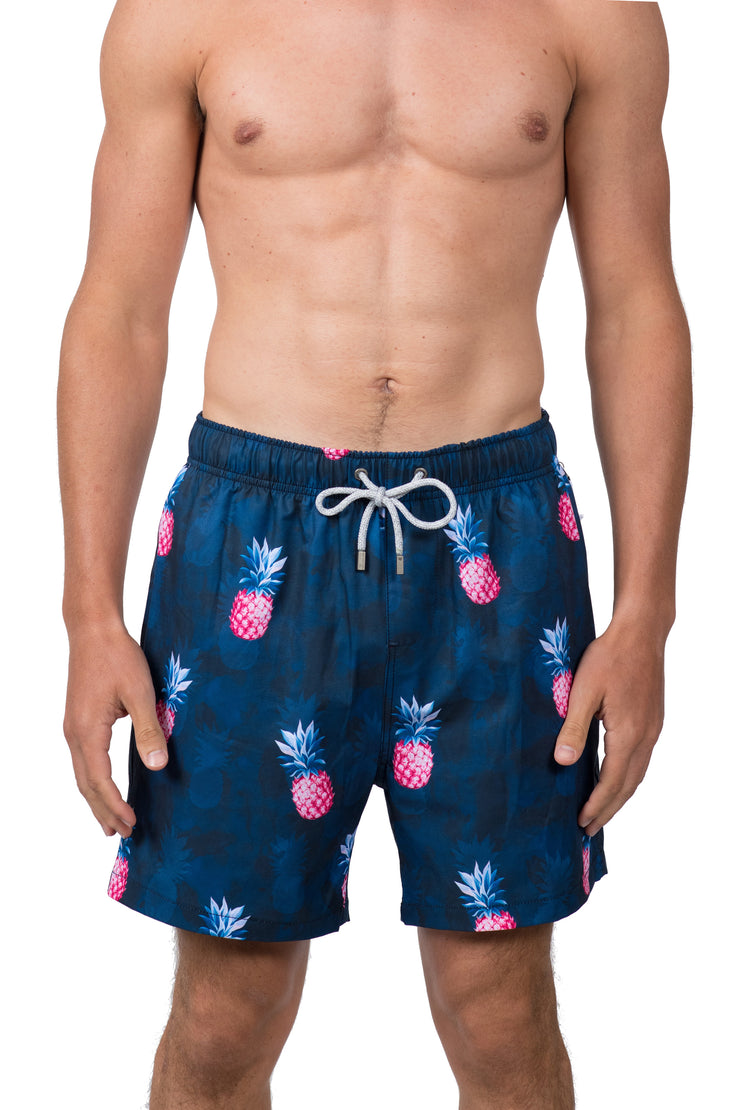 PINEAPPLE SWIM SHORTS - NAVY