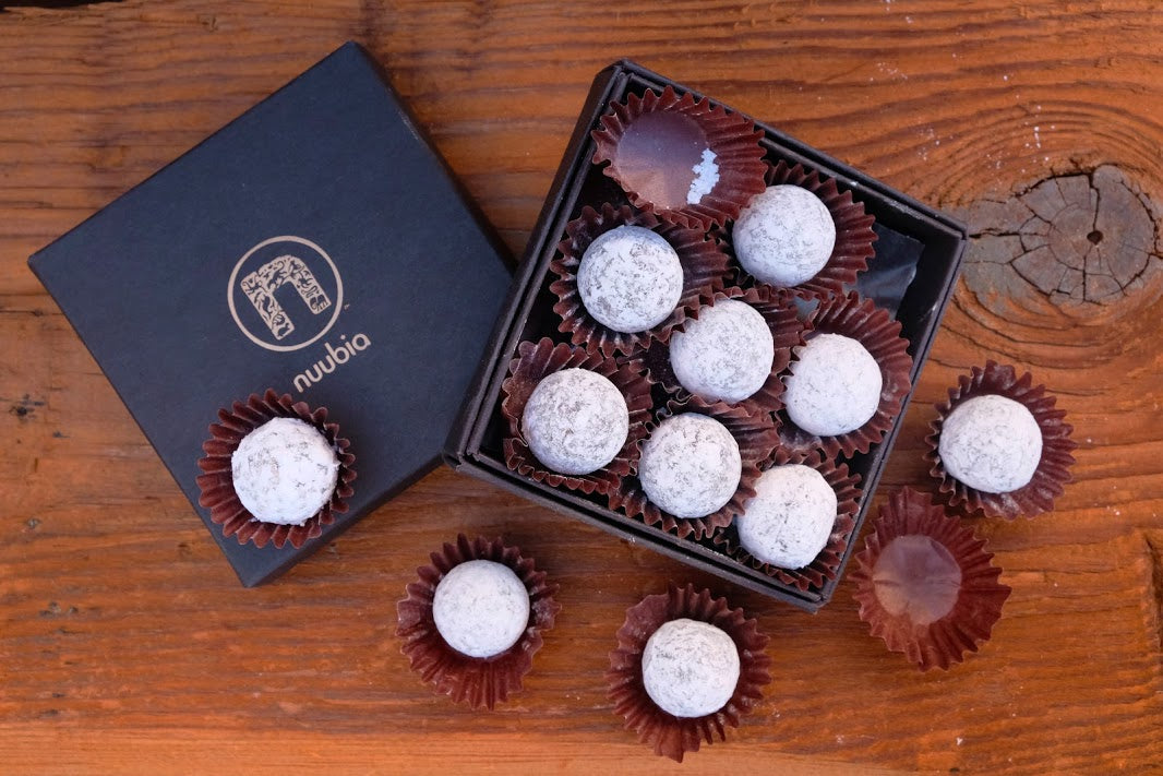 Wild Safe Chocolate Champagne Truffles
