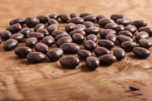 65% Single Origin Dark Chocolate Covered Almond Dragees