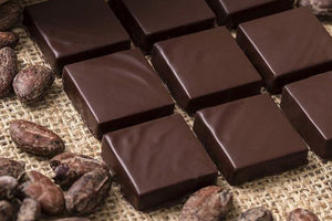 18 pcs Dark Chocolate Covered Sea Salt Caramels