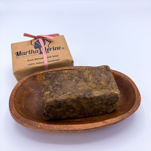 Organic Natural African Black Soap