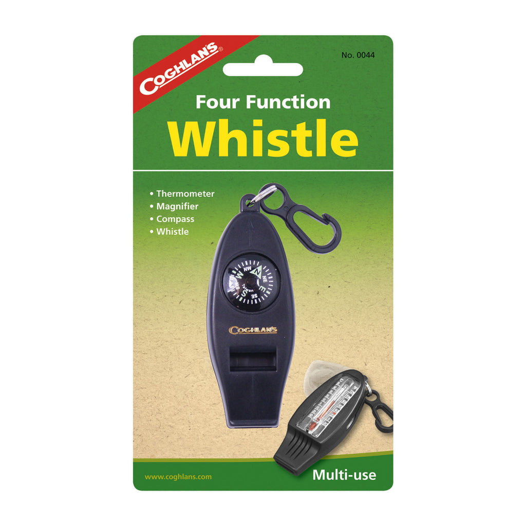 Four Function Emergency Whistle