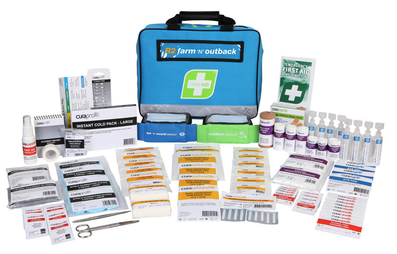 Farm and Outback First Aid Kit - WHS Compliant - Aussie Storm Shop ABN 38906576992