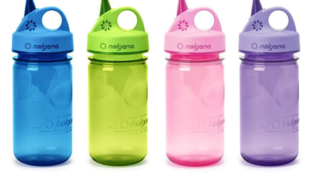 Grip-n-gulp Nalgene Toddler Bottle