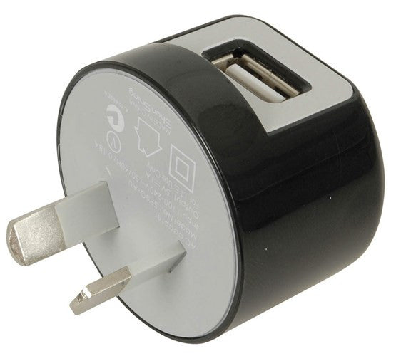 Micro Tiny USB 240v AC Power Adaptor 1amp - Suits iphone, ipod, Samsung - Aussie Storm Shop ABN 38906576992