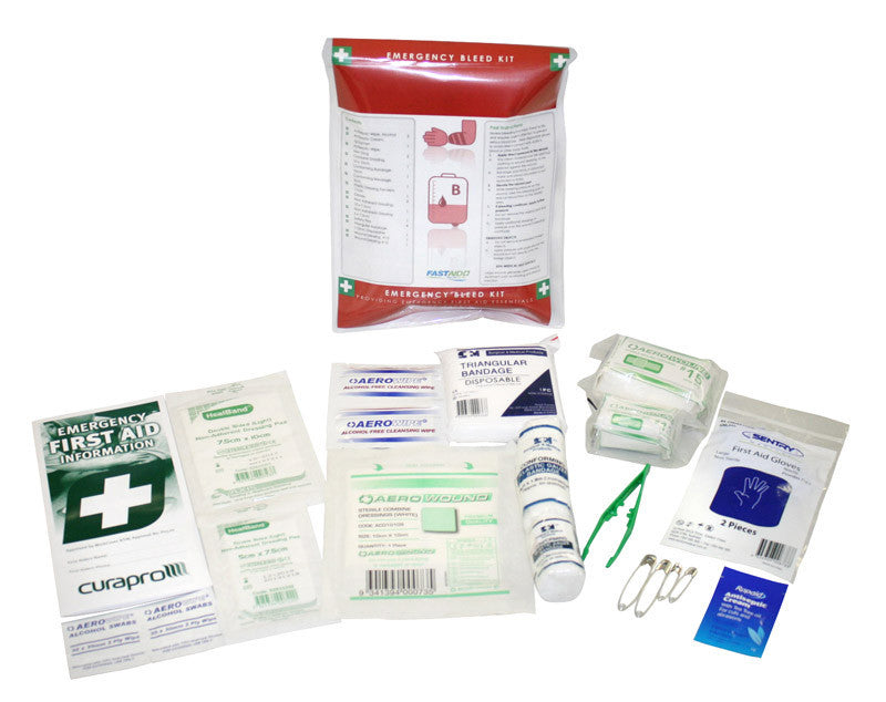 Emergency Bleed First Aid Kit - Aussie Storm Shop ABN 38906576992