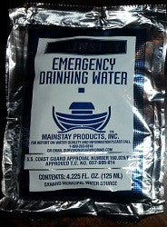 Emergency Water MRE Ration Single Pouch - Aussie Storm Shop ABN 38906576992