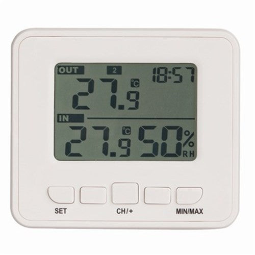 Wireless In & Out Thermometer and Hygrometer