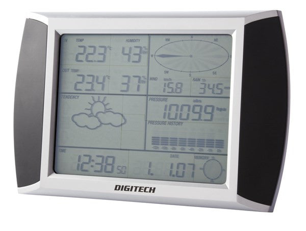 Touch Screen Wireless Weather Station with USB