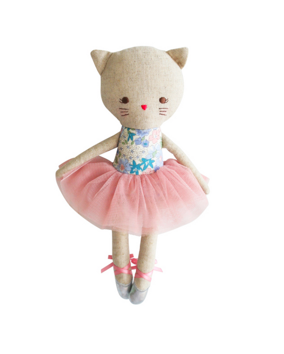 Odette Kitty Ballerina 25cm Liberty Blue
