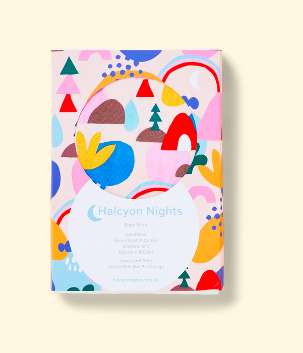 Halcyon Nights Love Land Baby Wrap