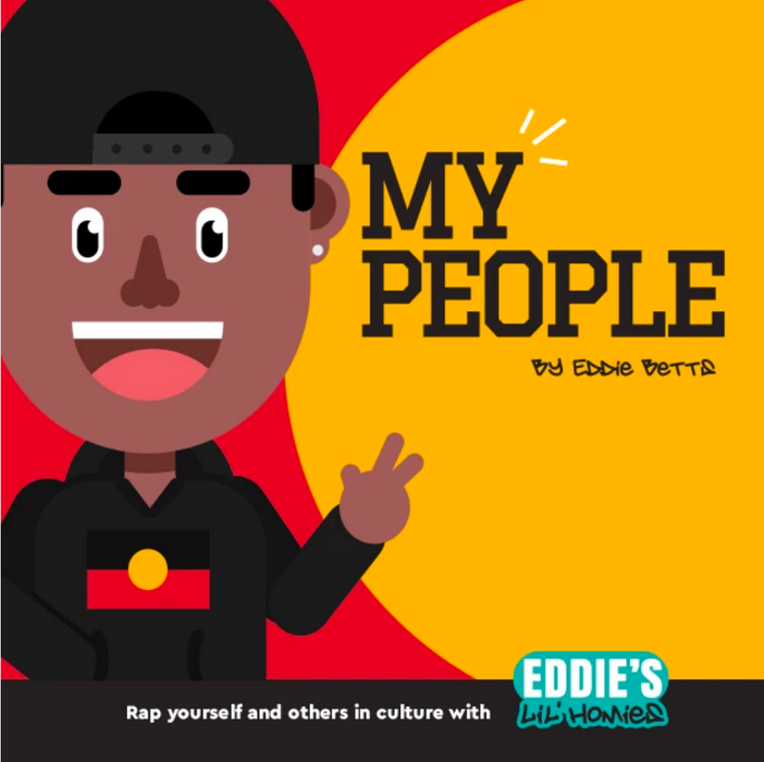 "Eddie's Lil Homies ""My People"" Book"