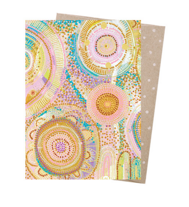 Natalie Jade Mermaid Waters Greeting Card