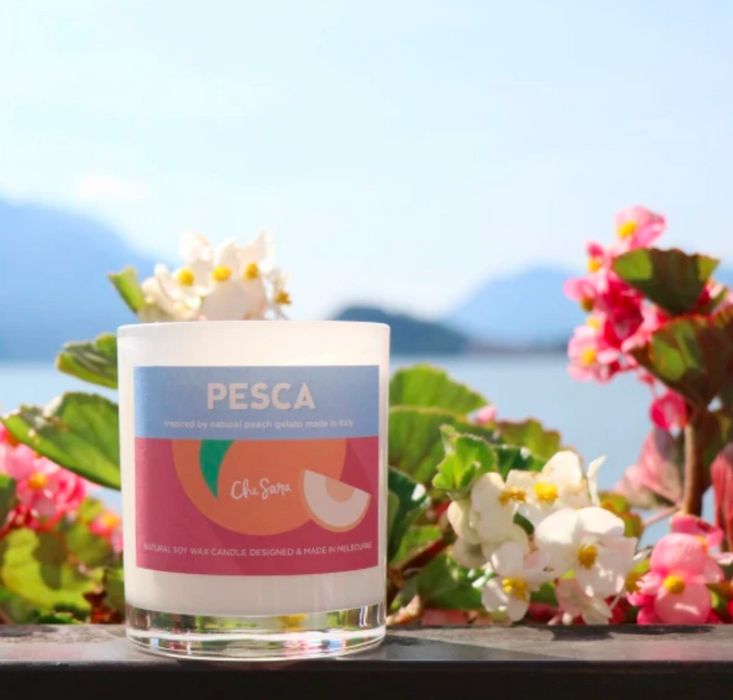 Pesca (Peach) Soy Wax Candle