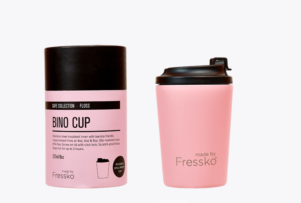 Fressko Floss Bino Resuable Cup (8oz)