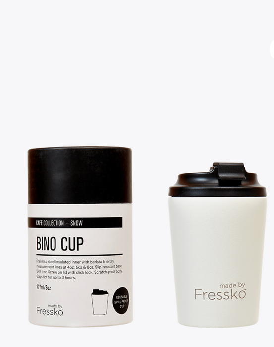 Fressko Snow Bino Resuable Cup (8oz)