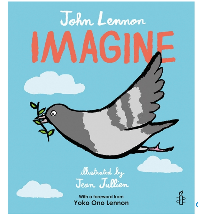 Imagine by John Lennon Book