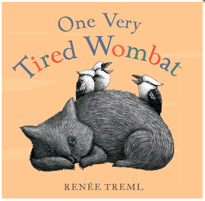 One Very Tired Wombat Board Book