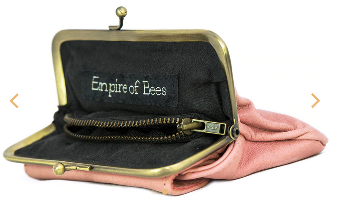 Empire of Bee's Penny's Purse Pink