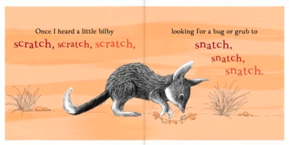 Once I Heard a Little Wombat Board Book