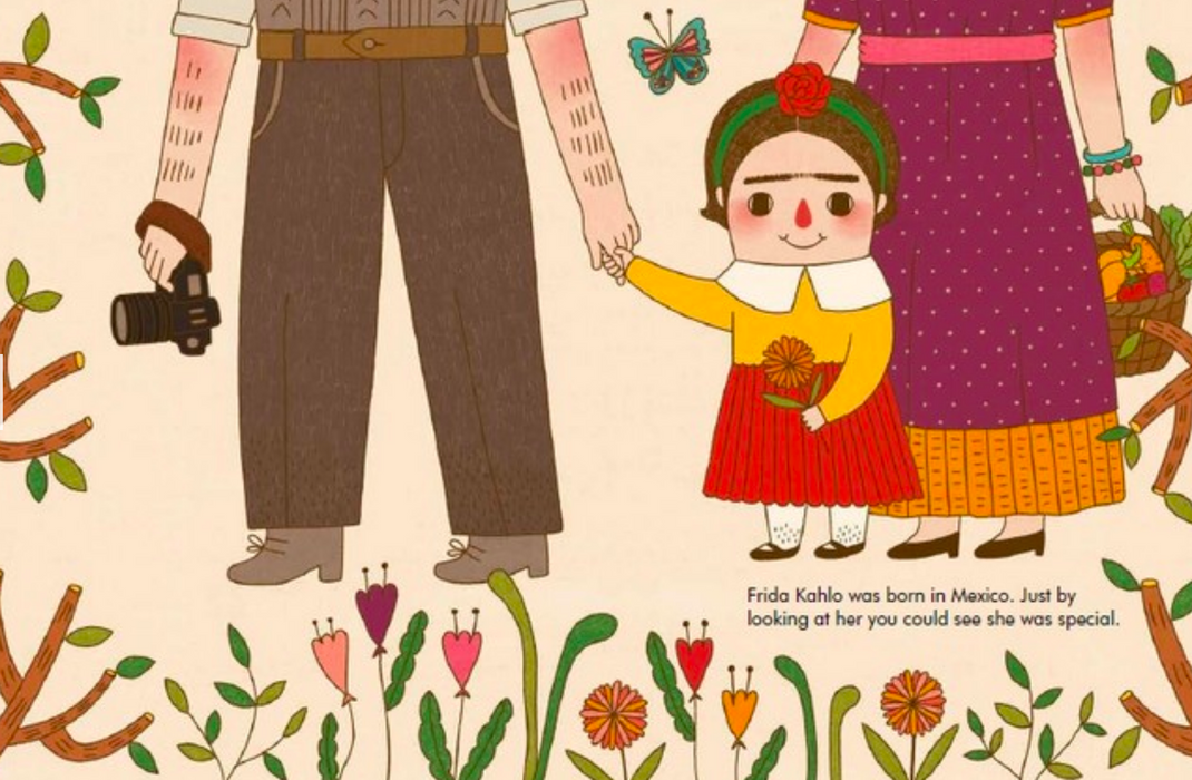 Frida Kahlo: My First Frida Kahlo Board Book