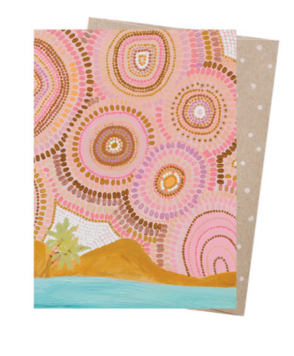 Natalie Jade Seven Sisters & The Sea Greeting Card