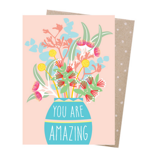 Amazing Bouquet Greeting Card