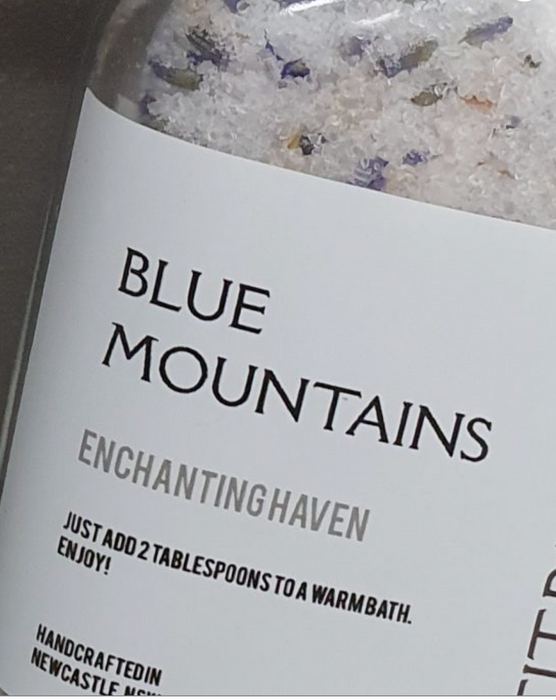 Petit Papillon 'Blue Mountain' Bath Salts