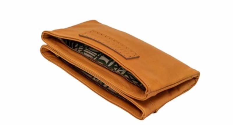 Empire of Bee's Tan Maggie Wallet