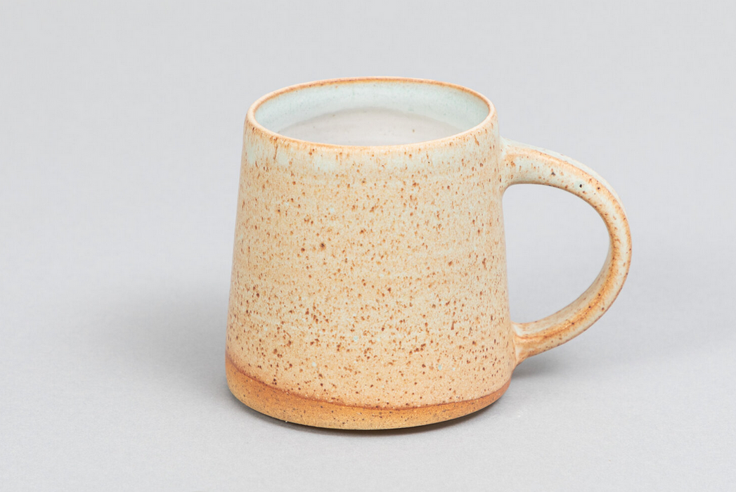 Clay by Khoa Light Green Speckled Mugs