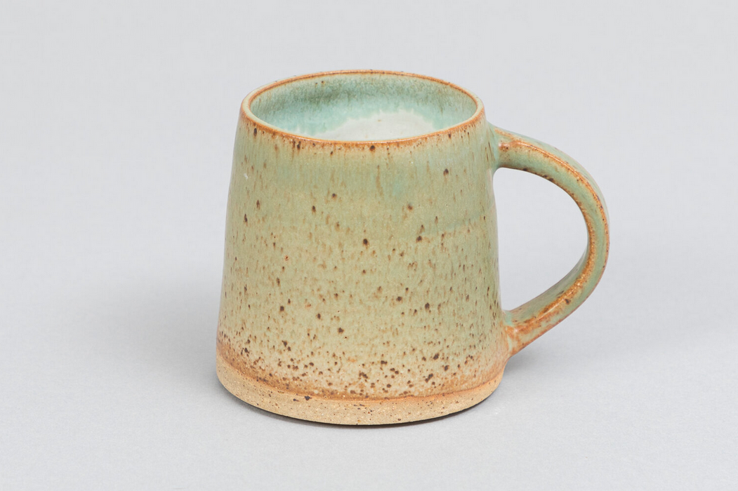 Clay by Khoa Dark Green Speckled Mugs