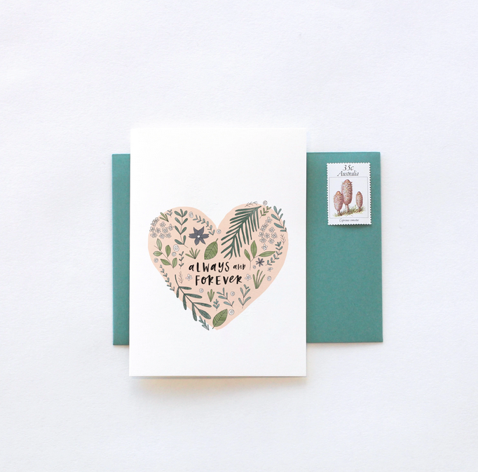 Always and Forever Greeting Card