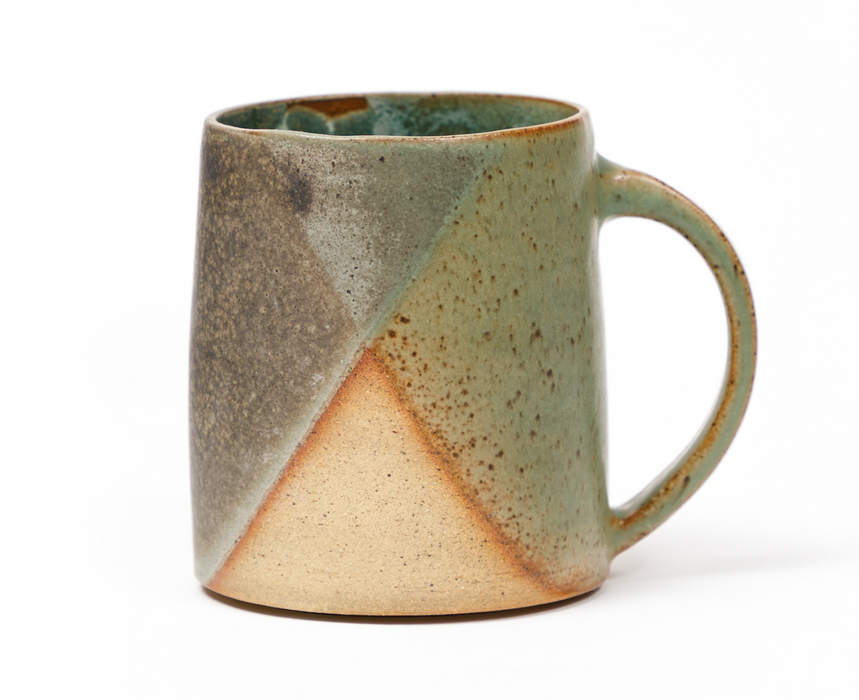 Clay by Khoa Dark Green x Dark Grey Mugs