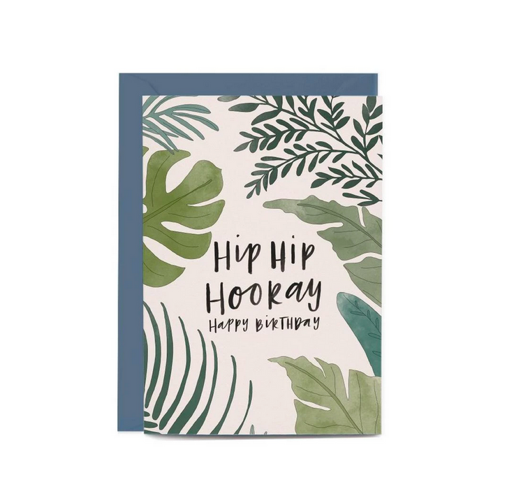 Birthday Ferns Greeting Card