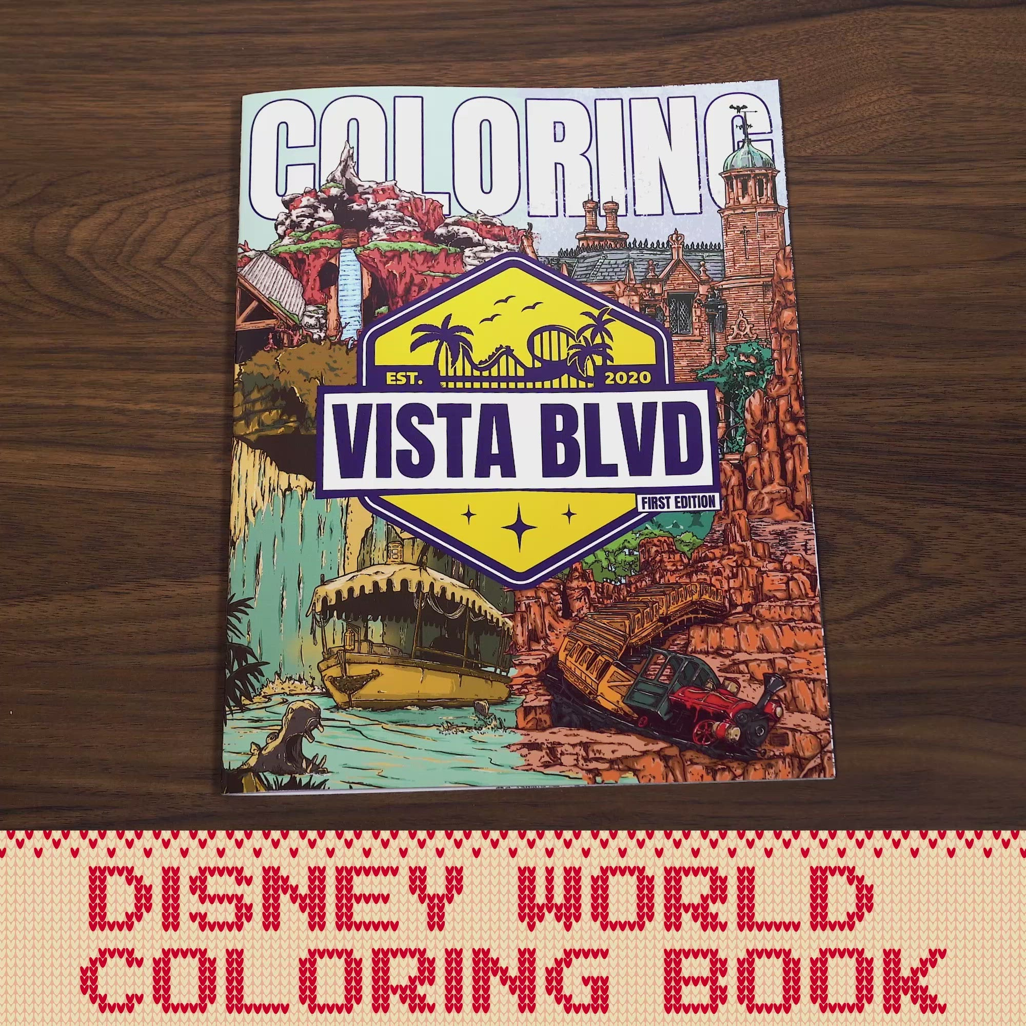 Coloring Book (First Edition)