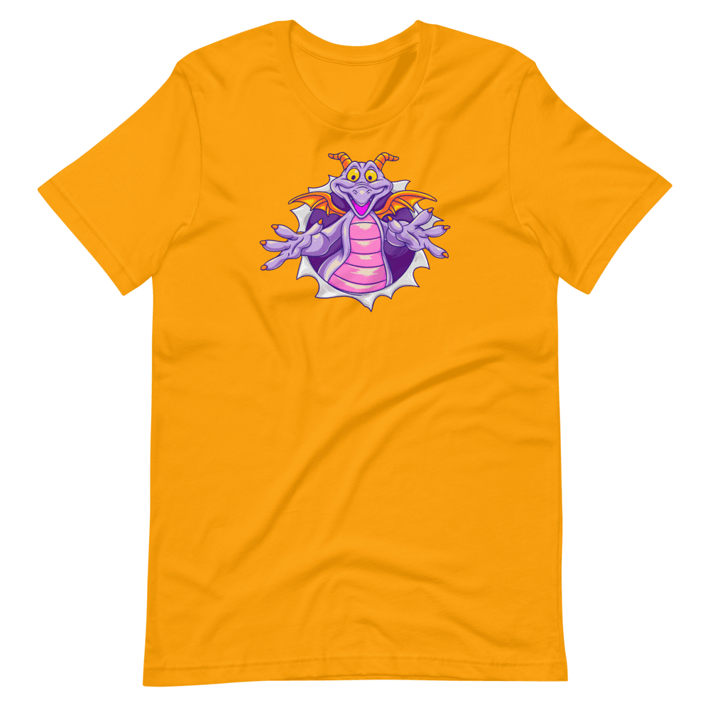 Figment Epcot Shirt in Navy