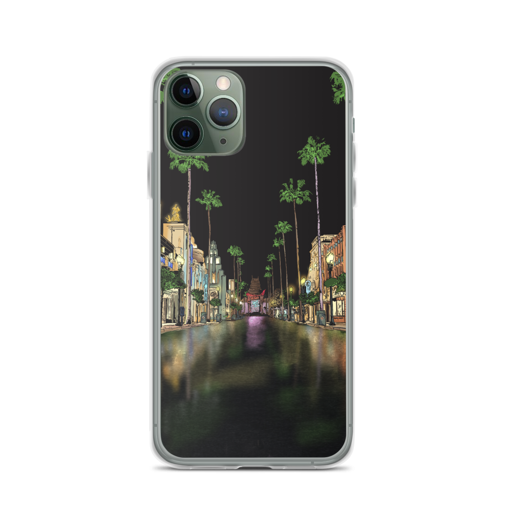 Hollywood Boulevard iPhone Case - Vista Blvd