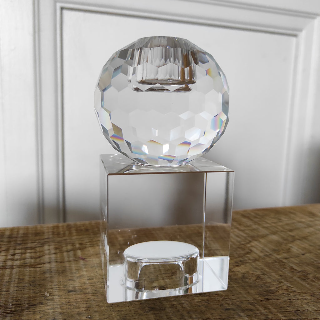 Bougeoir Glass Crystal